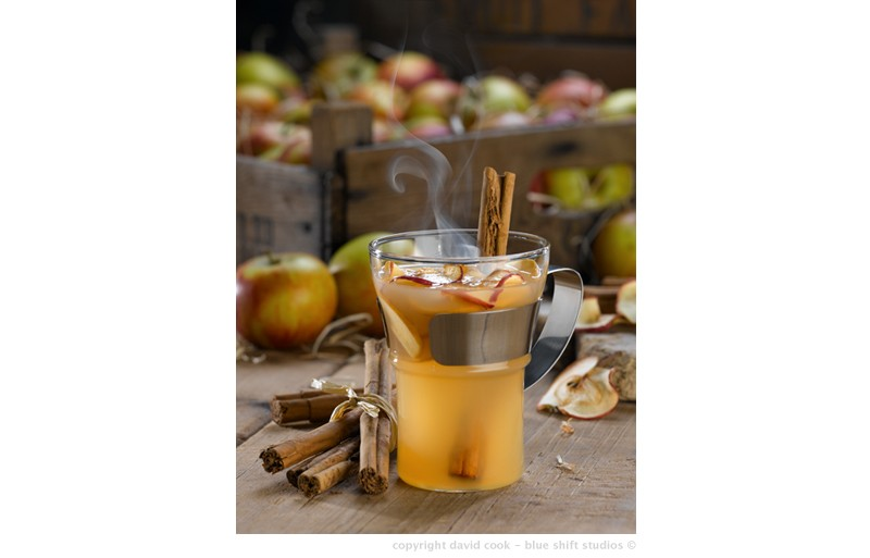 Apple & cinnamon toddy