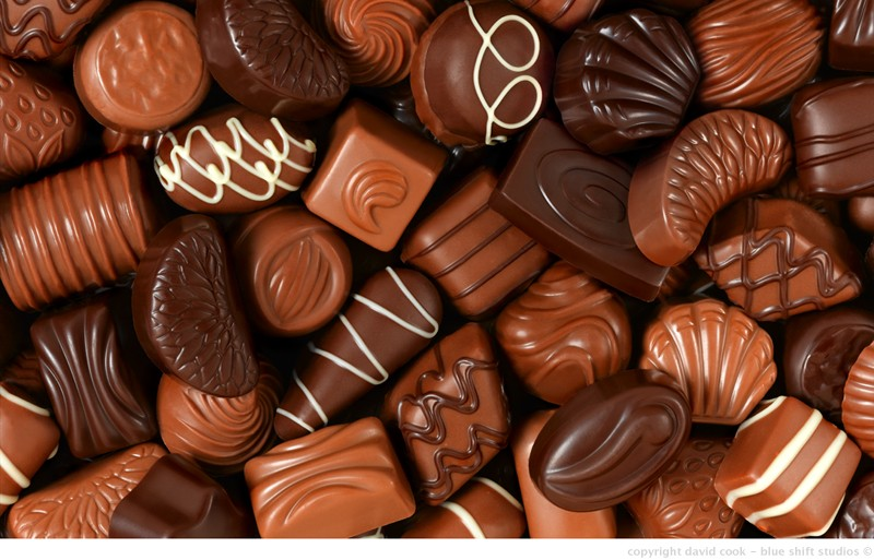 chocolates background