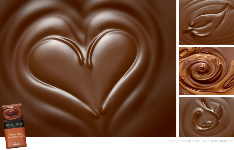 chocolate backgrounds for packaging