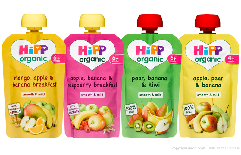 HiPP fruit pouches