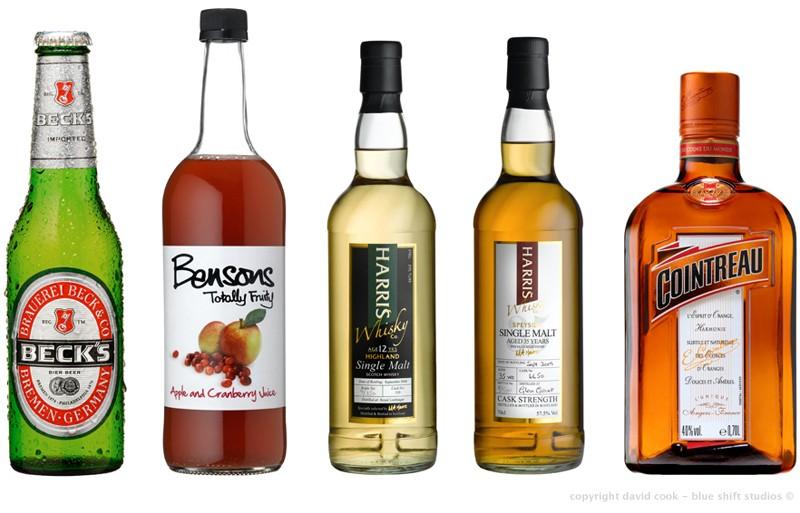 bottle line-up