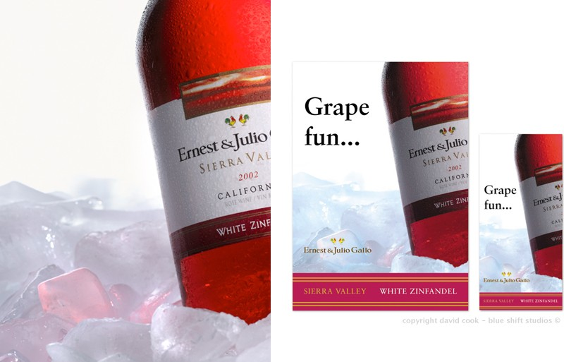 rose wine posters
